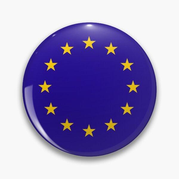 EU. European, Remainers, STARS, Flag, Euro, Flag of Europe, European Union, Flag, Brussels. Pin