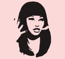 A Silhouette of Nicki Minaj
