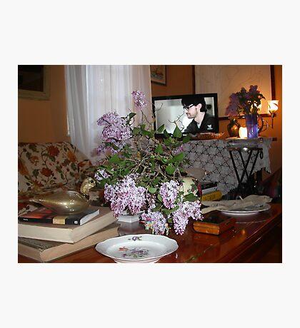 UN TAVOLINO e le serenelle ..2500 VISUALIZZAZ-- 2013..FEATURED RB EXPLORE 13 NOVEMBRE 2011 :::: .... Photographic Print