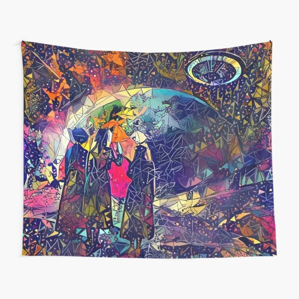 Abstract Eternal Atake Tapestry