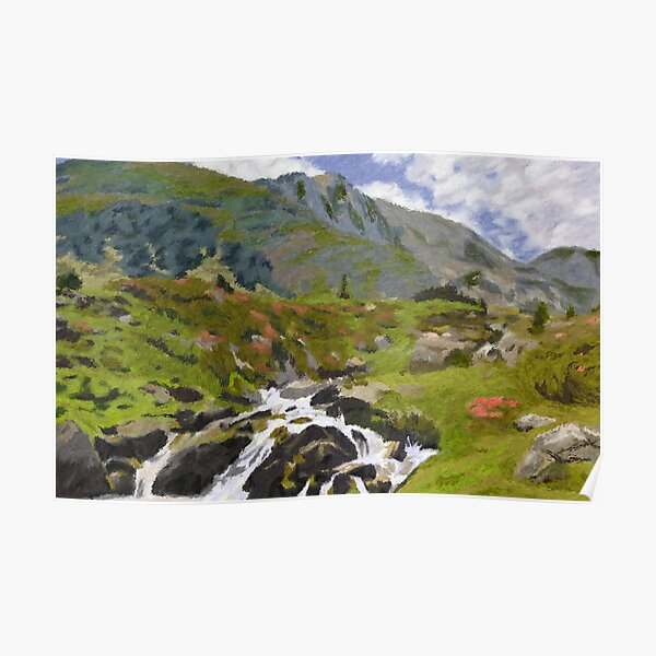 The Pyrenees Poster