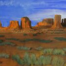 Monument Valley  by Heberto   G. Cavazoz