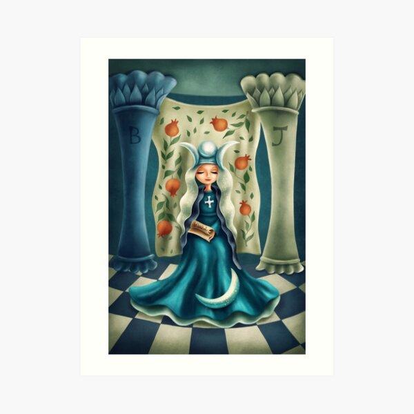 Die Hohepriesterin Kunstdruck