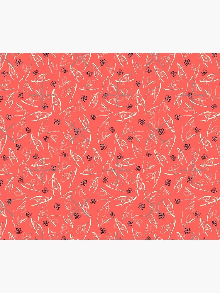 Schneeglöckchen Living Coral von Reginadambeck