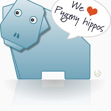 We heart Pygmy Hippos by Boomworks