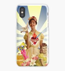 Kitsch Triptych: Mary iPhone Case/Skin