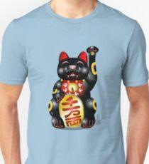 Money Cat Black Unisex T-Shirt