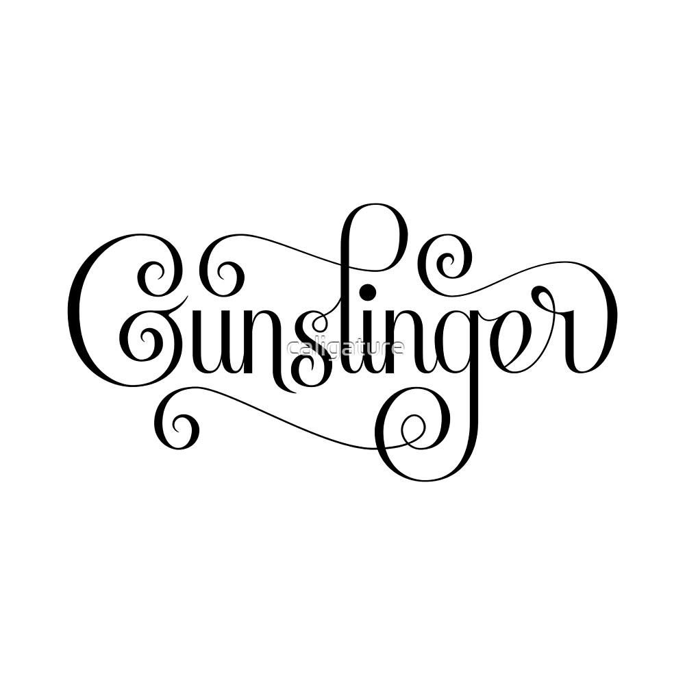 Gunslinger (Alternate) by caligature