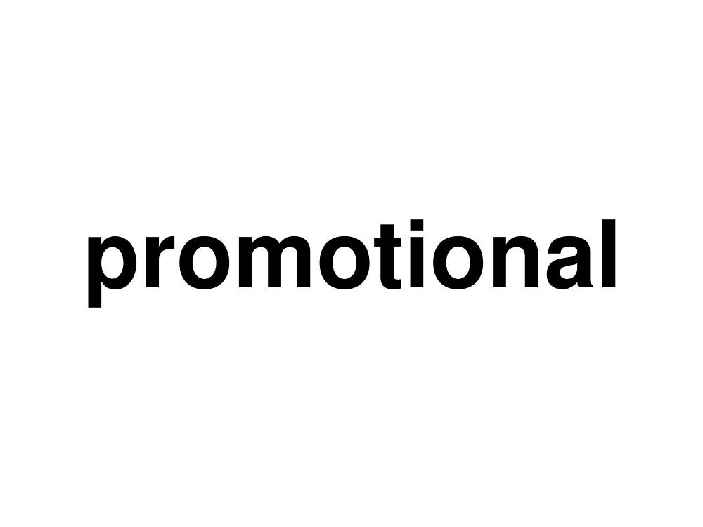 promotional by ninov94