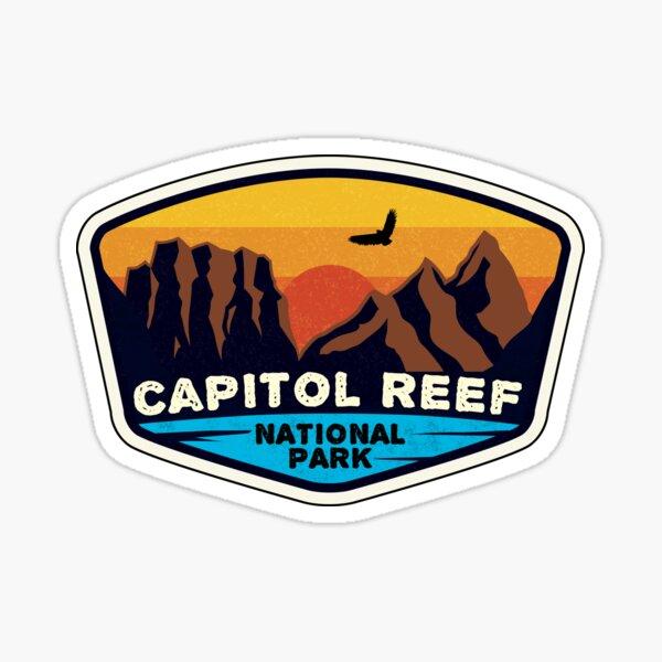Capitol Reef National Park Utah Sticker