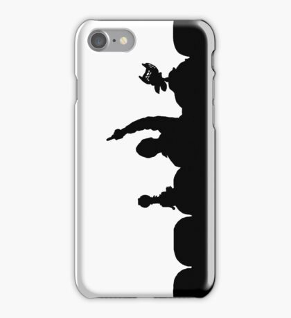 Up your nose iPhone Case/Skin
