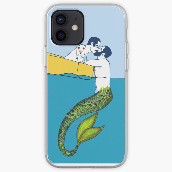 The sailor and the Triton iPhone Soft Case