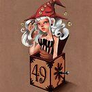 Girl 49 | Girl in a box  by Erica Rosario