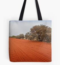 Outback red dirt road Tote Bag