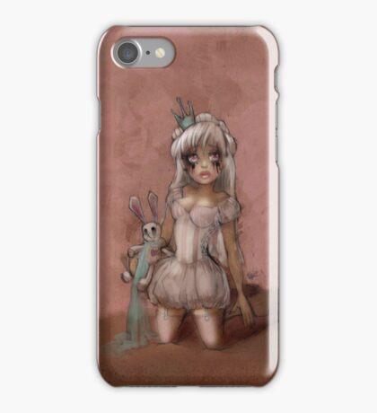 Girl 13 | smudged mascara iPhone Case/Skin