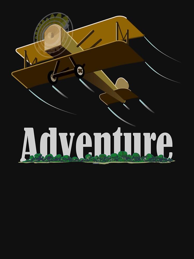 Biplane Island Adventure by a-roderick