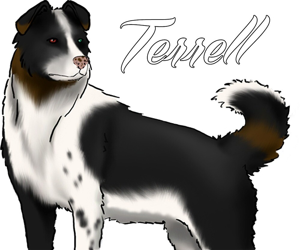 Unchained Characters - Terrell  by suzq044