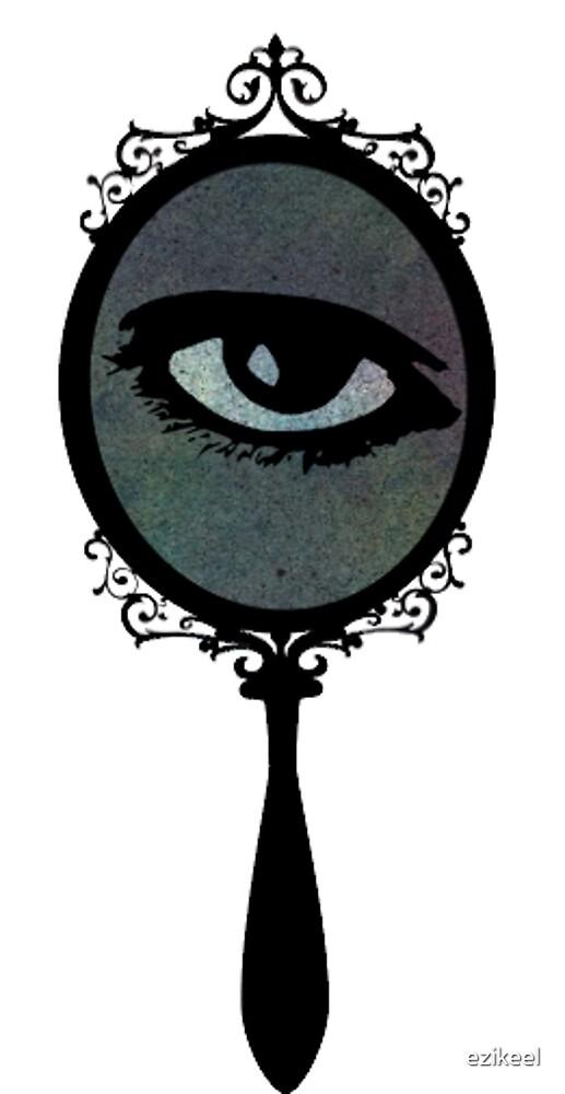 Scrying Mirror by ezikeel