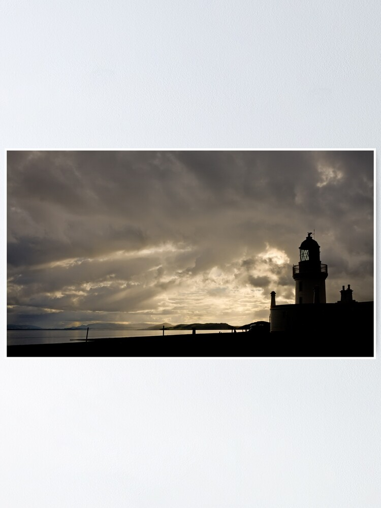Alternate view of Chanonry Point Lighthouse - 21/09/15 Poster