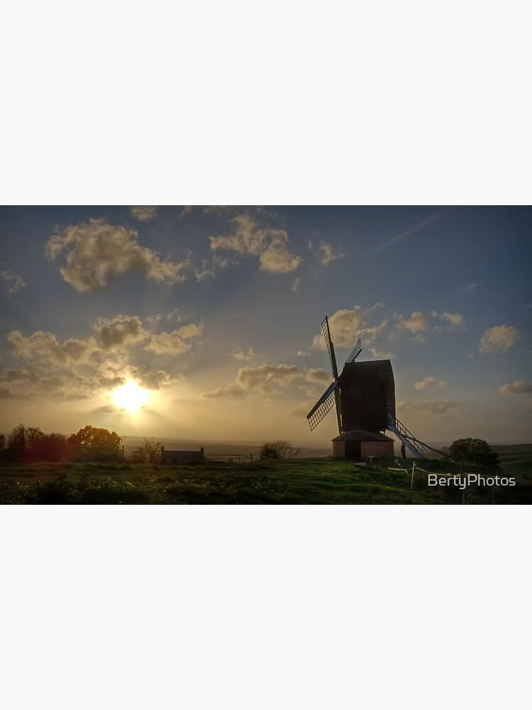Sahara Sunset, Brill Windmill - 16/10/17 by BertyPhotos
