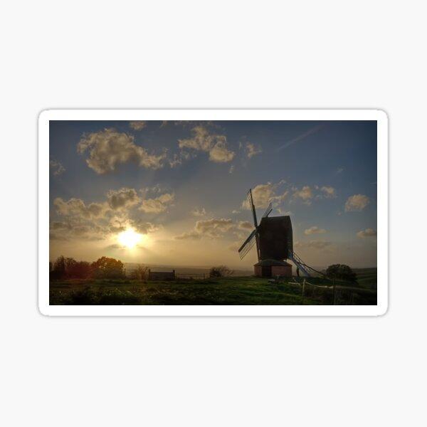 Sahara Sunset, Brill Windmill - 16/10/17 Sticker