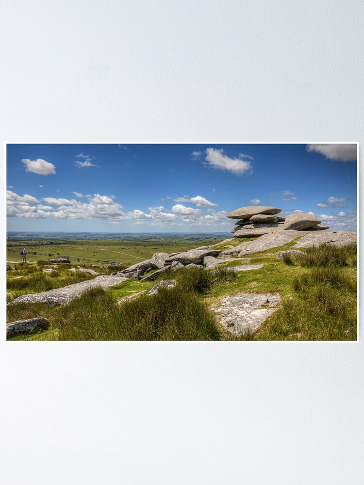 Alternate view of Cheesewring, Bodmin Moor - 21/06/19 Poster