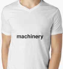 machinery Men's V-Neck T-Shirt