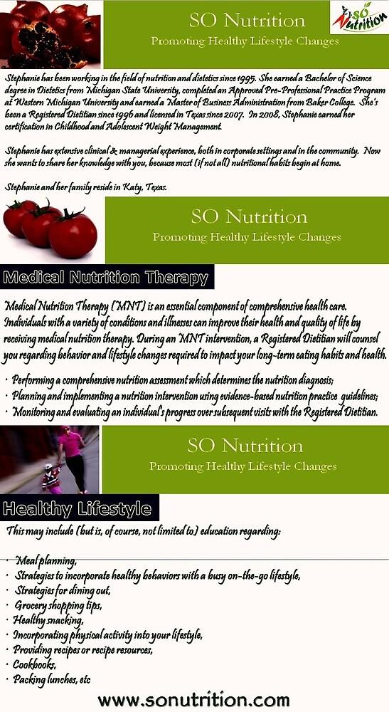 Nutrition Behavior Modification Katy Tx by sonutrition