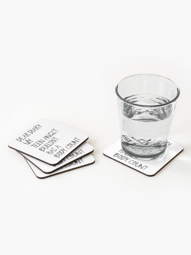 Alternate view of Dear Diary Coasters (Set of 4)