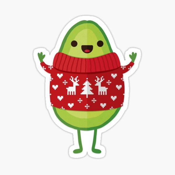 Avo Merry Christmas! Sticker