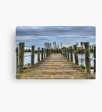 Portugal Tagus River Afluent Canvas Print