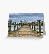 Portugal Tagus River Afluent Greeting Card