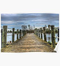 Portugal Tagus River Afluent Poster