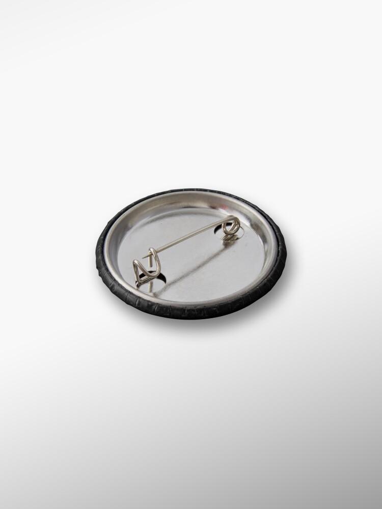 Alternate view of Flower Skull Pin