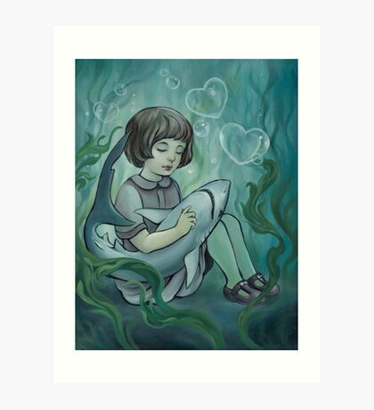 Underwater Dreaming  Art Print