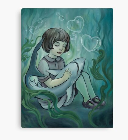Underwater Dreaming  Canvas Print