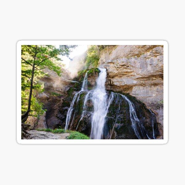 Cascada de la Cueva Sticker