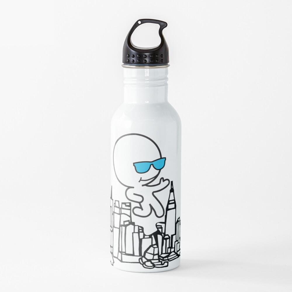 Ghostskate Merch Set 5 - City Walk Water Bottle