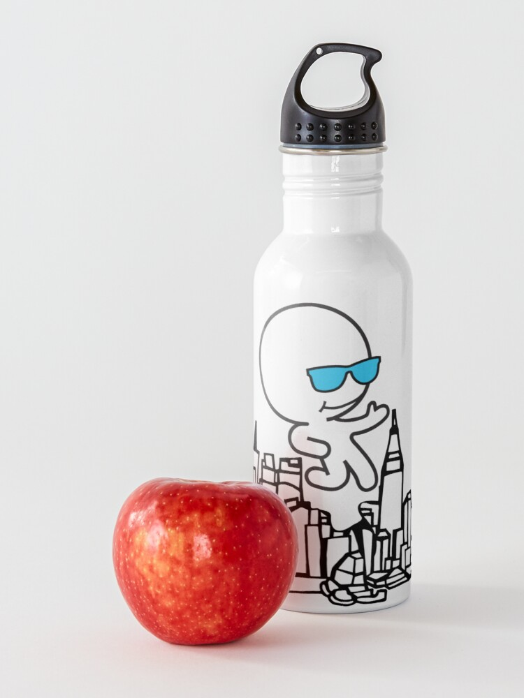 Alternate view of Ghostskate Merch Set 5 - City Walk Water Bottle