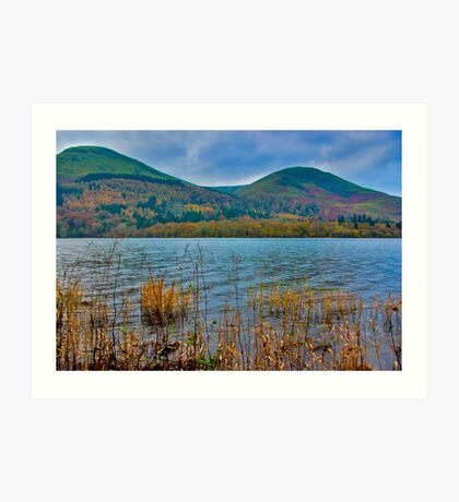 Autumn Colours at Buttermere Art Print