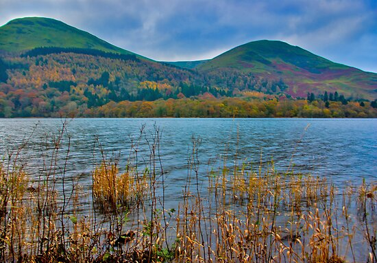 Autumn Colours at Buttermere by Trevor Kersley