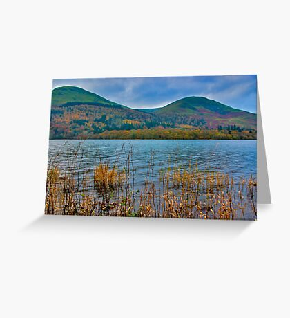 Autumn Colours at Buttermere Greeting Card
