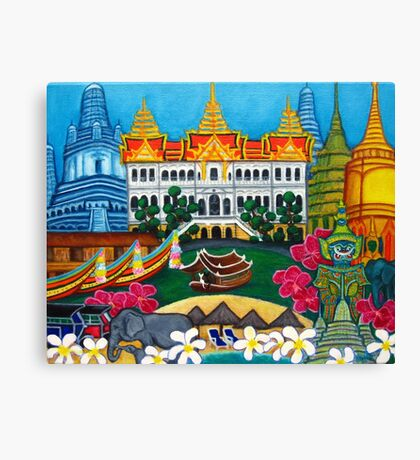Exotic Bangkok Canvas Print