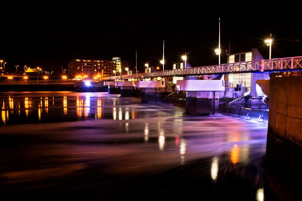 The Lagan Weir No.2 by Chris Cardwell
