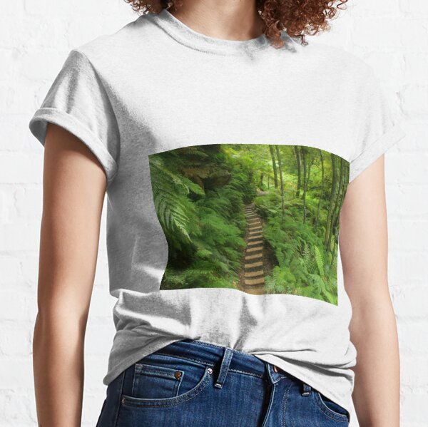 Pathway of ferns Classic T-Shirt