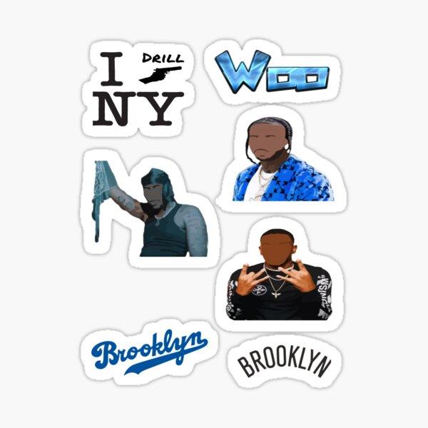 Woo NYC Drill Sticker Pack Sticker