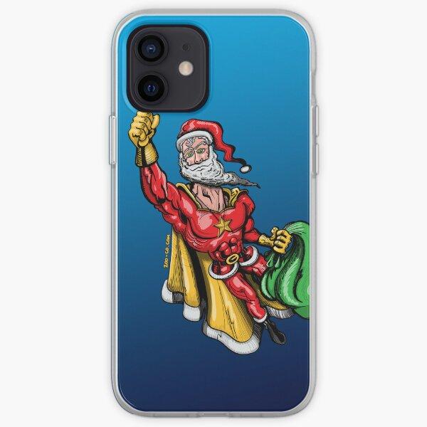 Super Santa Claus iPhone Soft Case