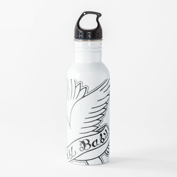 Cry Baby lil peep logo Water Bottle