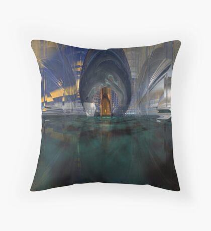 Glass Fantasy Throw Pillow