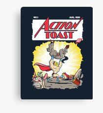 Action Toast Canvas Print